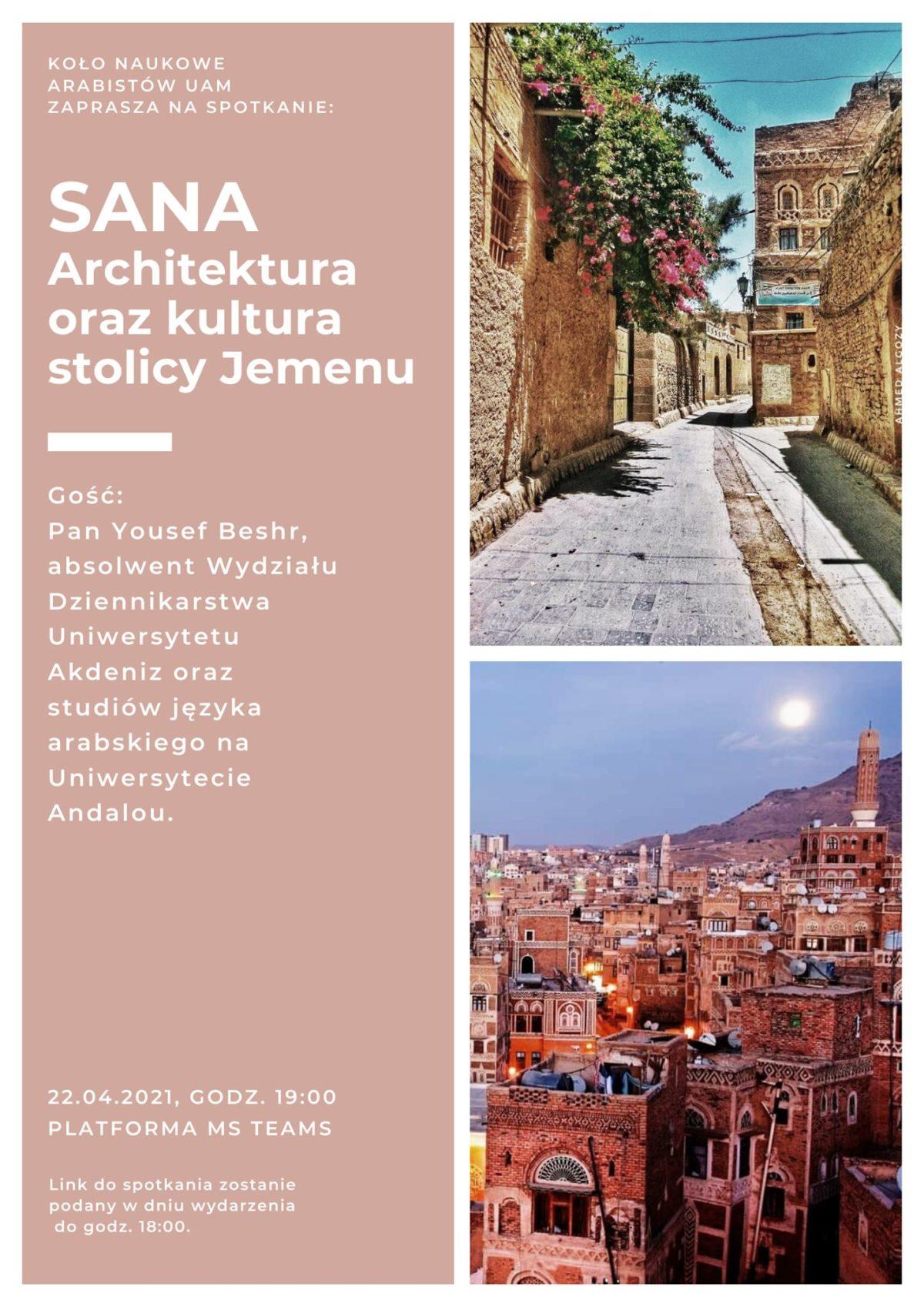 Sana – architektura oraz kultura stolicy Jemenu